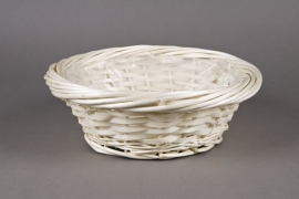 Wicker ball with rim D30 H11cm