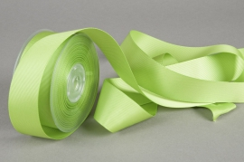 Grosgrain ribbon apple green 38mmx20m