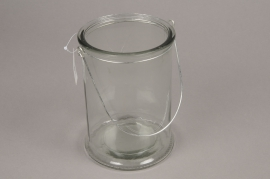 A000G9 Glass light holder D12cm H17cm