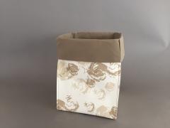 A000K1 Paquet de 10 cache-pots en papier étanche 15x15 H26cm