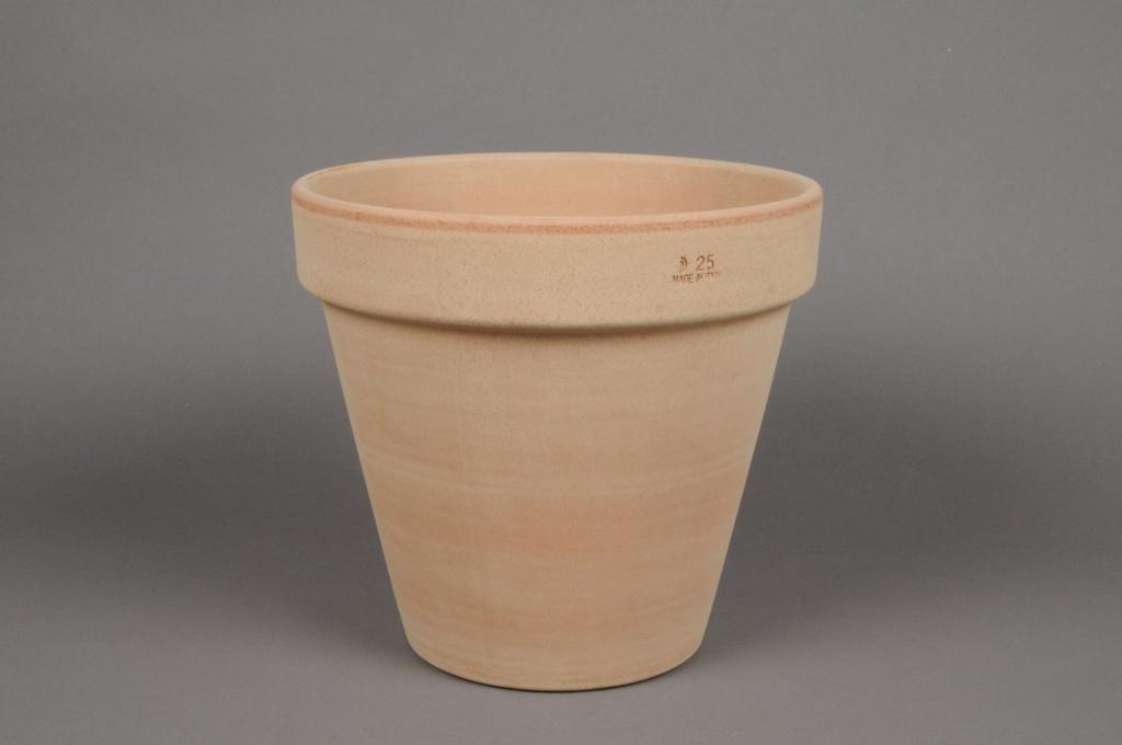 A000KF Pot en terre cuite D25cm H24cm