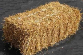 A000N1 Bale of natural straw