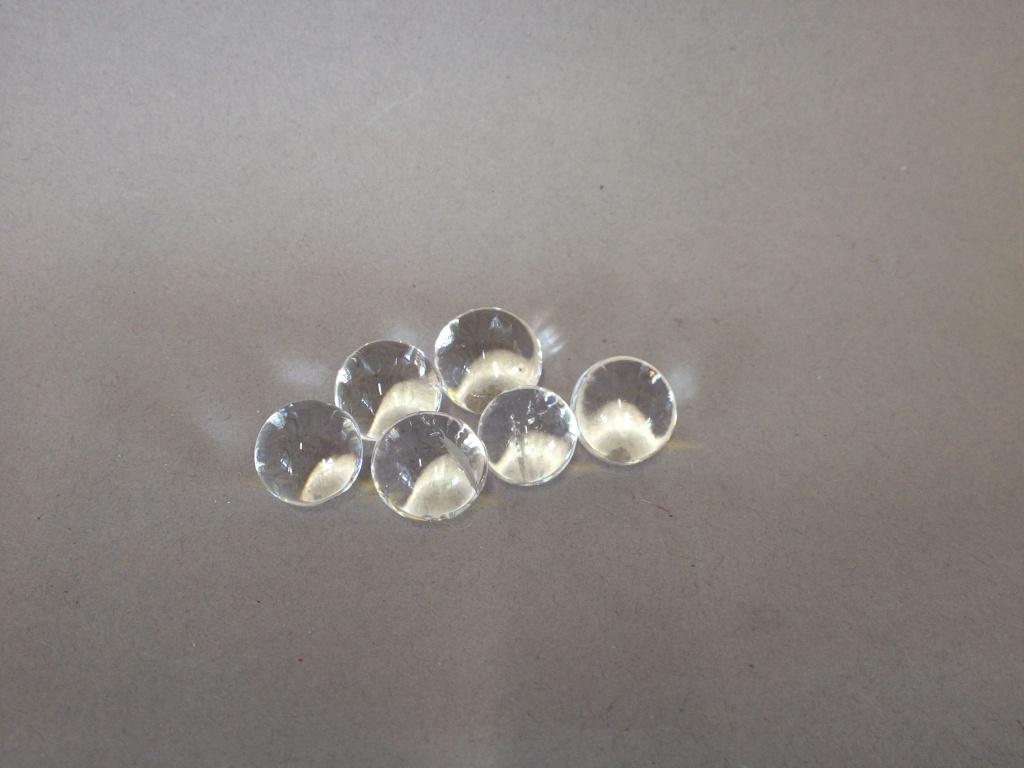A000PM Pot perles d'eau gel transparent D15-18mm