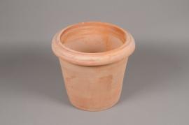 A000Q2 Pot en terre cuite D25cm H26cm