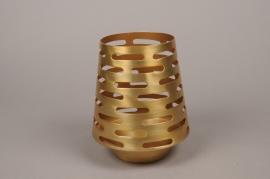 A000W0 Photophore métal or H21cm