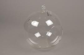 A001H9 Boule en verre à suspendre D18cm H20cm