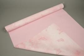 A001N4 Pearl pink polypropylene roll 80cm x 40m