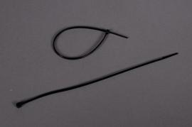 A001RD Boîte de 250 serre câbles noir 20cm