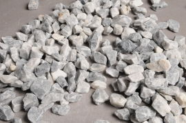 A001RZ Bag of grey blue marble 8/12mm