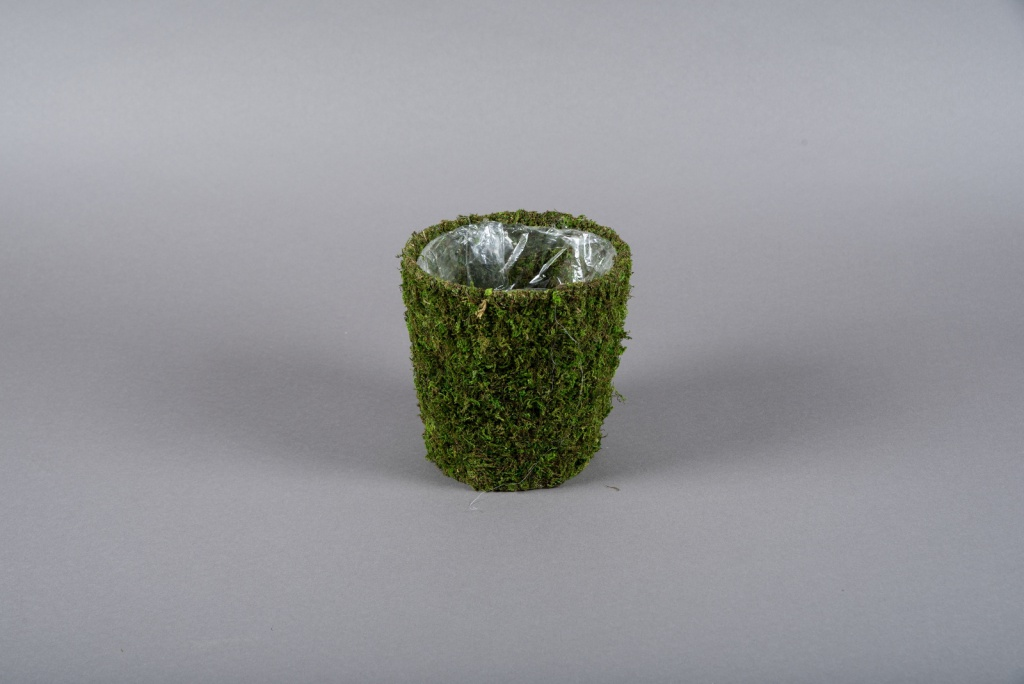 A001T9 Moss pot D15.5cm H16.5cm