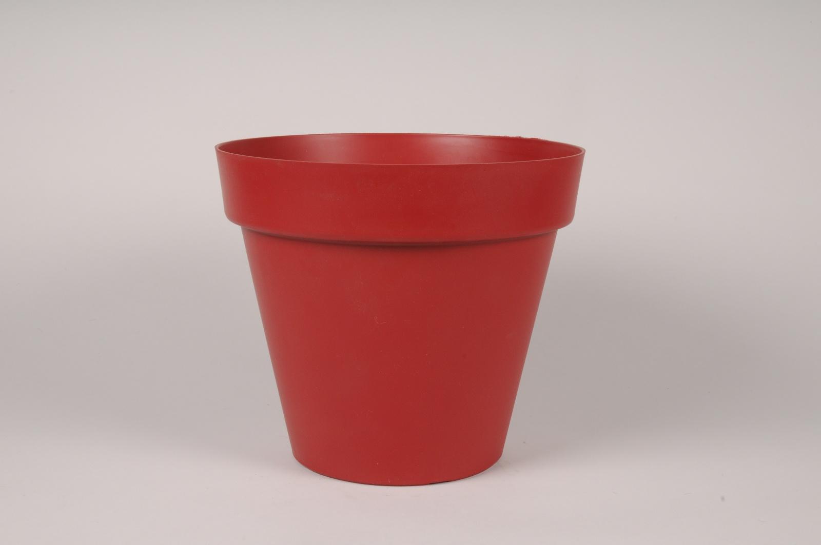 A002DB Pot toscane rouge D29.5cm H26.5cm