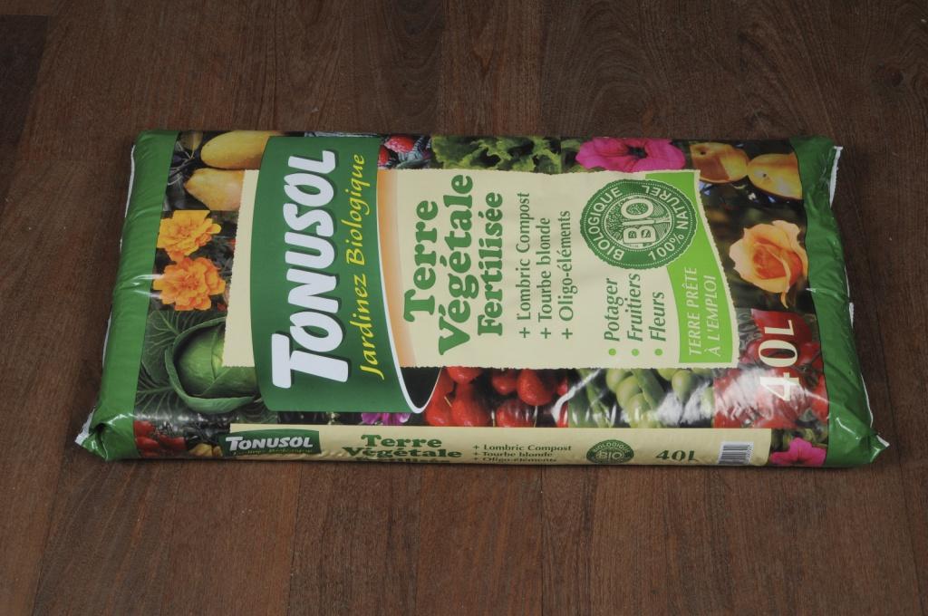 A002DG Terre végétale fertilisée 40L
