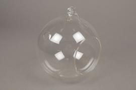 A002H9 Boule en verre à suspendre D20cm H22cm