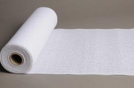 A002J9 White burlap roll 30cm x 5m