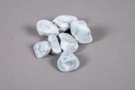 A002RZ Sac de galets gris blanc 30/60mm 20kg