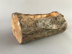 A002UE Jardinière en bois 13cm x 25cm H10.5cm