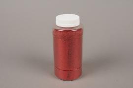 A003BW Glitter pot 400g red