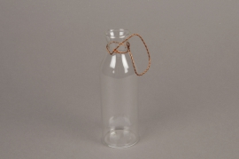 A003IH Glass vase to be suspended D5cm H15cm