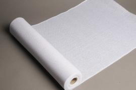 A003J9 White burlap roll 50cm x 5m