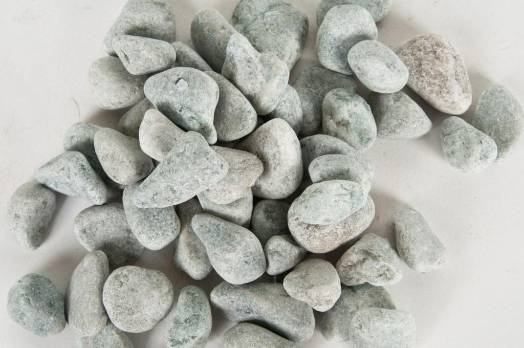 A003KO Sac de graviers de marbre roulé bleu 15/25mm 25kg