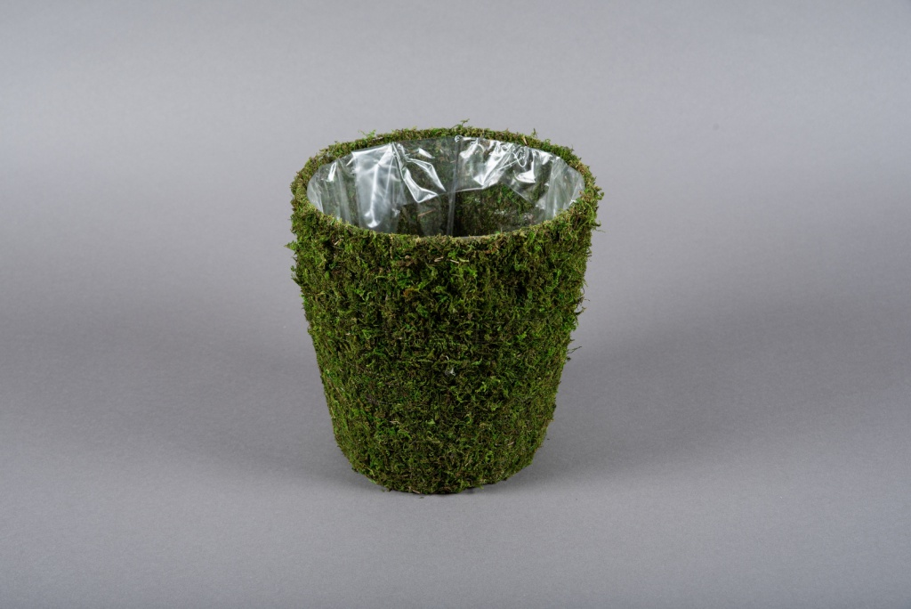 A003T9 Moss pot D20cm H21.5cm