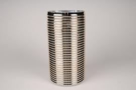 A004A3 Vase verre or D16cm H31cm
