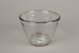 A004H6 Glass bowl D16cm H11cm
