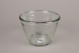 A004H6 Glass bowl D16cm H11cm