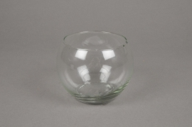 A004I0 Sphere glass vase diameter 10cm height 8,5m