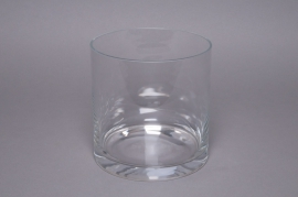 A004PQ Vase verre cylindre D20 H30cm