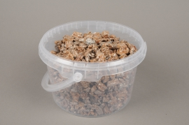 A004SK Cork whith silver glitter bucket 2.5L