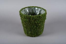 A004T9 Pot en mousse D25cm H24cm