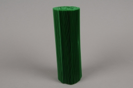 A004Z5 Set of 100 pvc pleated pot cover green H20cm