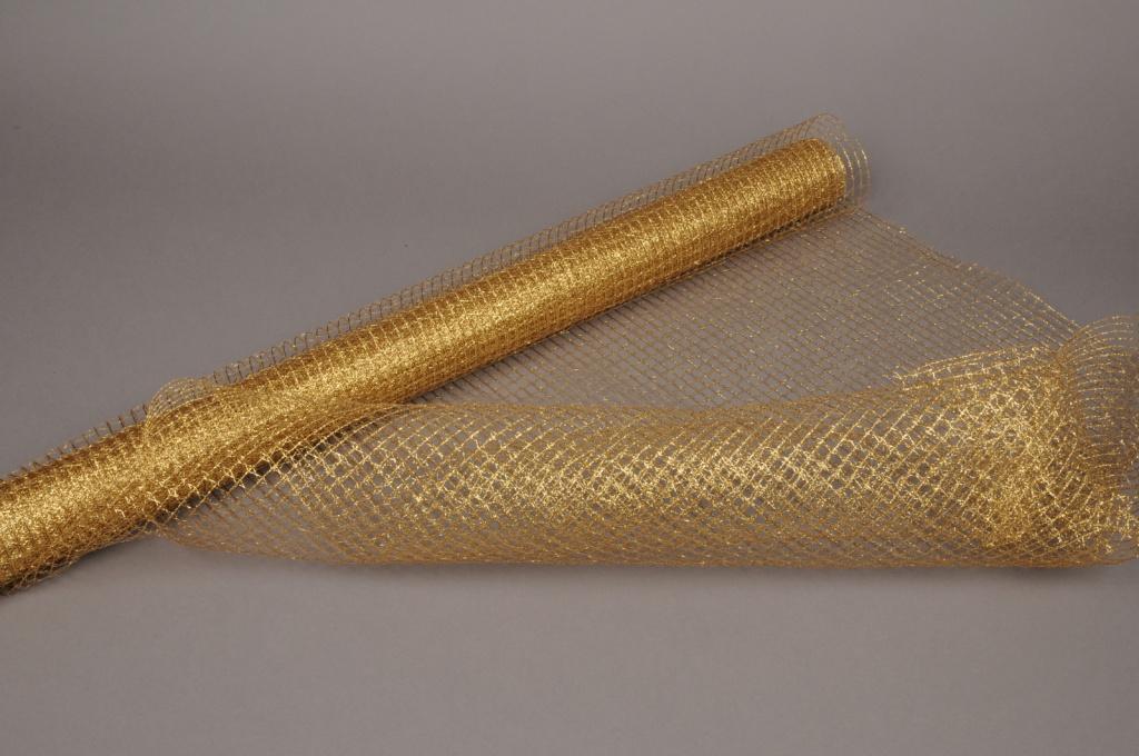 A004ZB Tissu grillage or 78cm x 9m