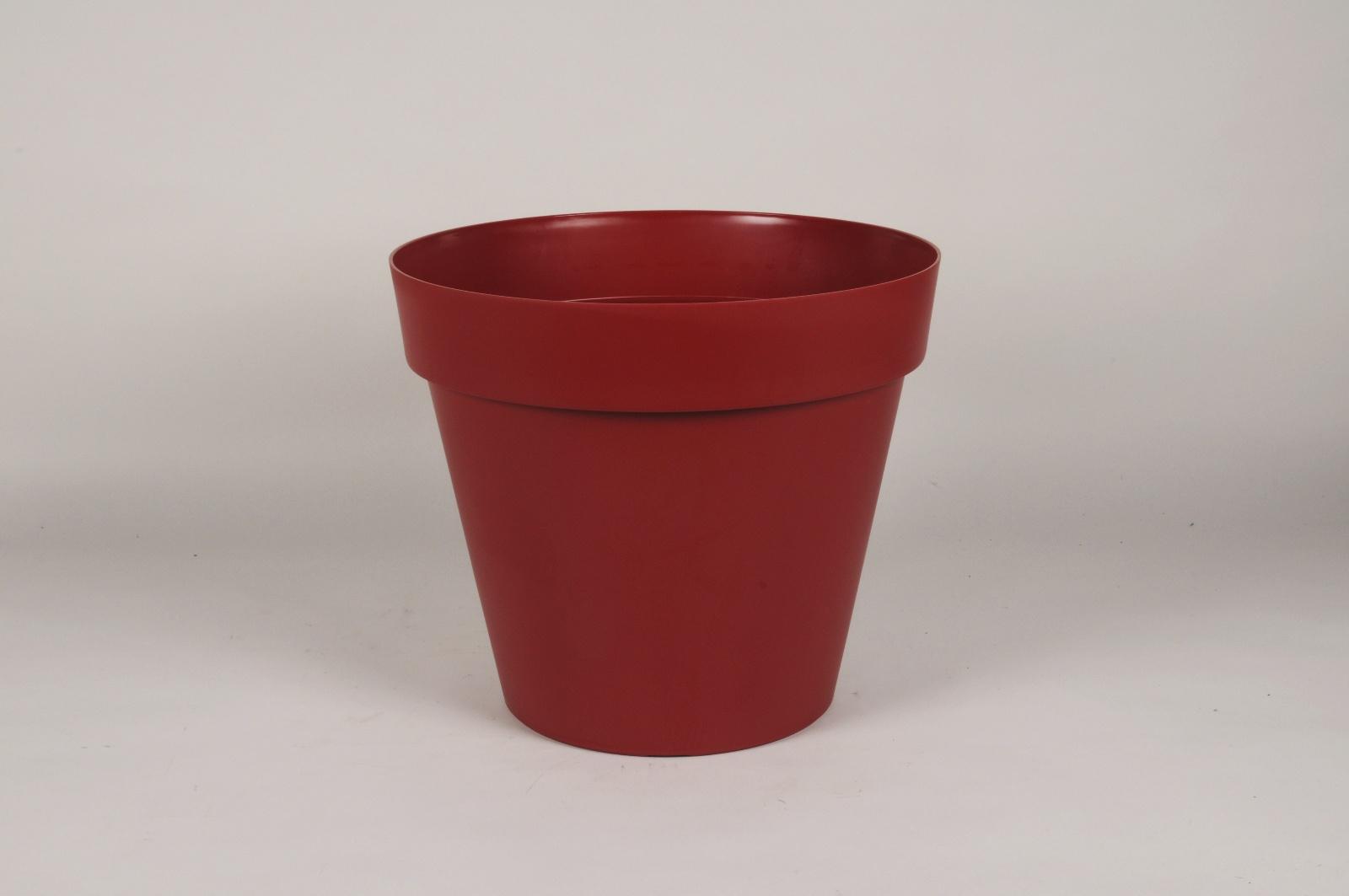 A005DB Pot toscane rouge D40cm H35cm