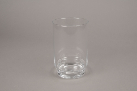 A005H9 Glass candle jar D12m H19cm