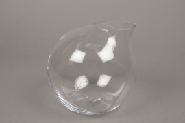A005IH Design vase glass sphere H18cm