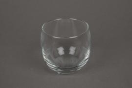 A005L2 Verrine boule en verre D8cm H8cm