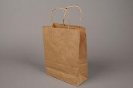 A005O6 Bag of 50 bags kraft natural 32x12cm H41cm