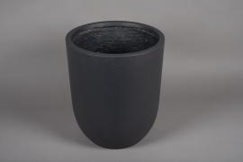 A005VV Grey fiber planter D36cm H41cm