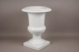 A005W7 White fiberglass medici D54cm H75cm