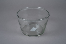A006H6 Glass bowl D28cm H15cm