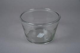 A006H6 Glass bowl D28cm H15cm