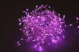 A006K6 Micro LED cluster string light pink 5M