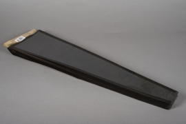 A006MO Pack of 50 black kraft bags H51cm