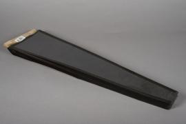 A006MO Paquet de 50 housses kraft noir H51cm