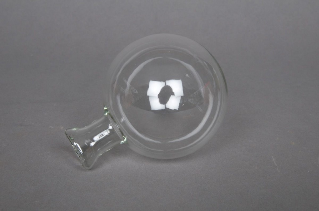 A006PM Box of 35 clear  Hanging single-flower vases D7cm
