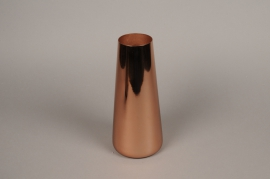 A006W0 Copper metal vase H28cm