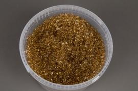 A007AE Seau 2.5L perles de pluie caramel