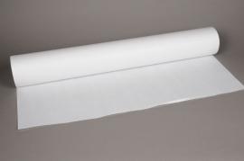 A007IX Rouleau de papier kraft blanc 80cm x 120m